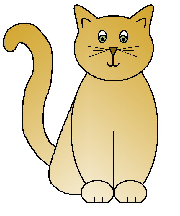 clipart picture of cat - photo #16