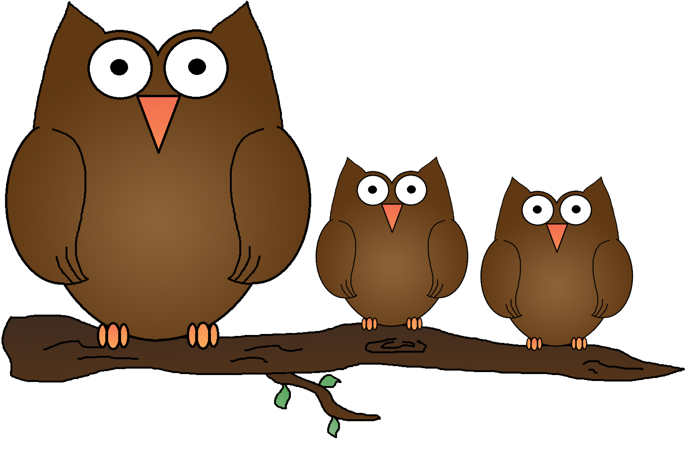 graphics by ruth owls Racoon in a Tree Clip Art Colorful Owl Clip Art