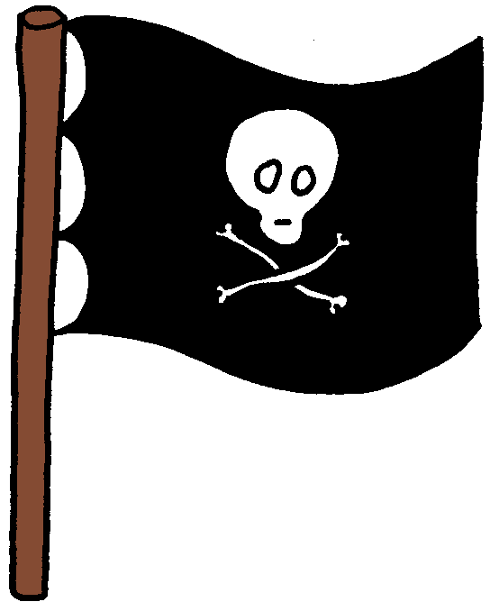 clipart pirate flag - photo #1