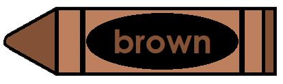 Brown Crayon for Pinterest