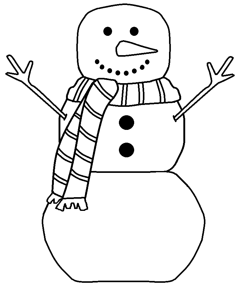With white christmas background and snow vector vector background - Graphics By Ruth Snowmen