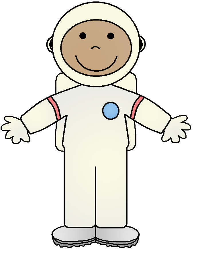 astronauts in space clipart - photo #23