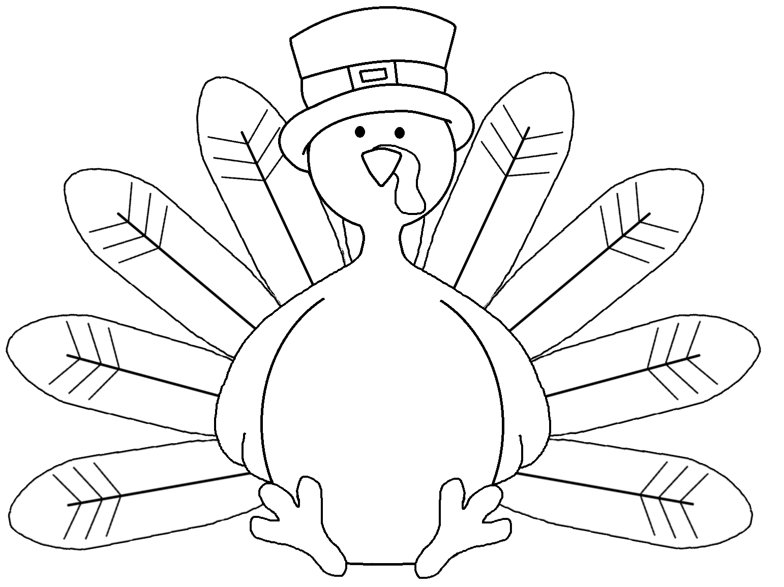 Free Coloring Pages Of Turkey Color By Number Turkey Coloring Page Printable