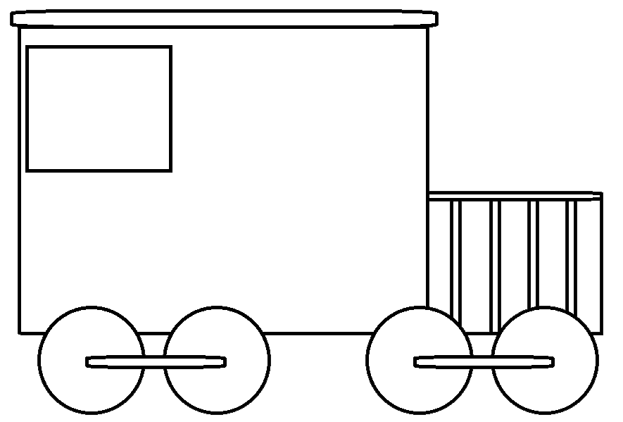 electric train clipart black and white - photo #15