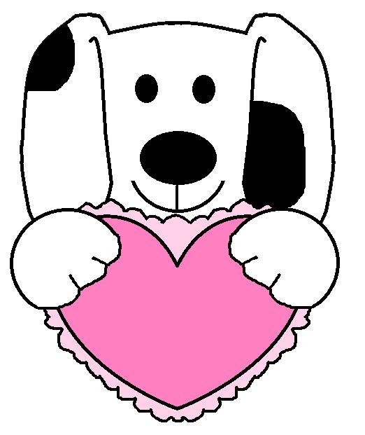 valentine puppy clipart - photo #17
