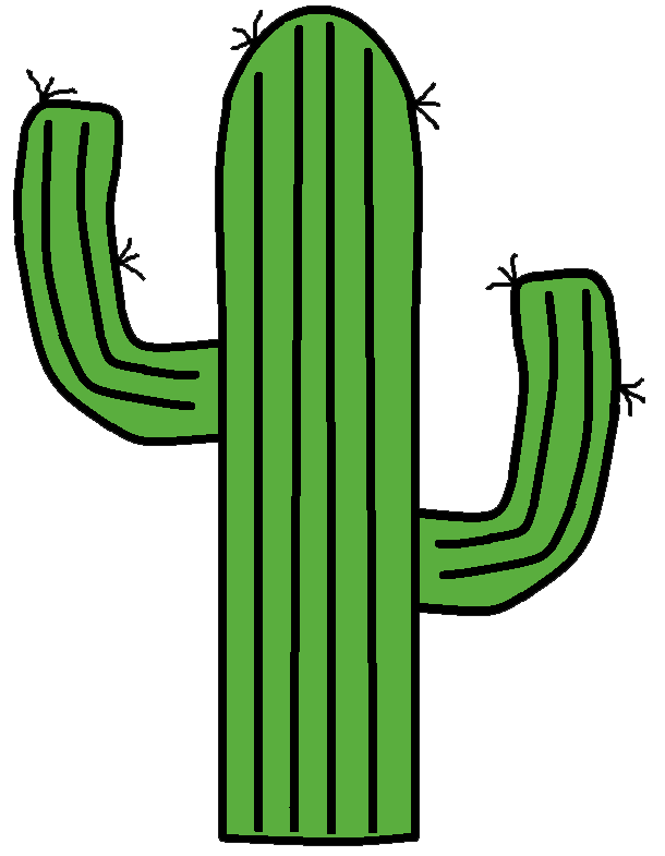 Western Cactus Clip Art Images & Pictures - Becuo