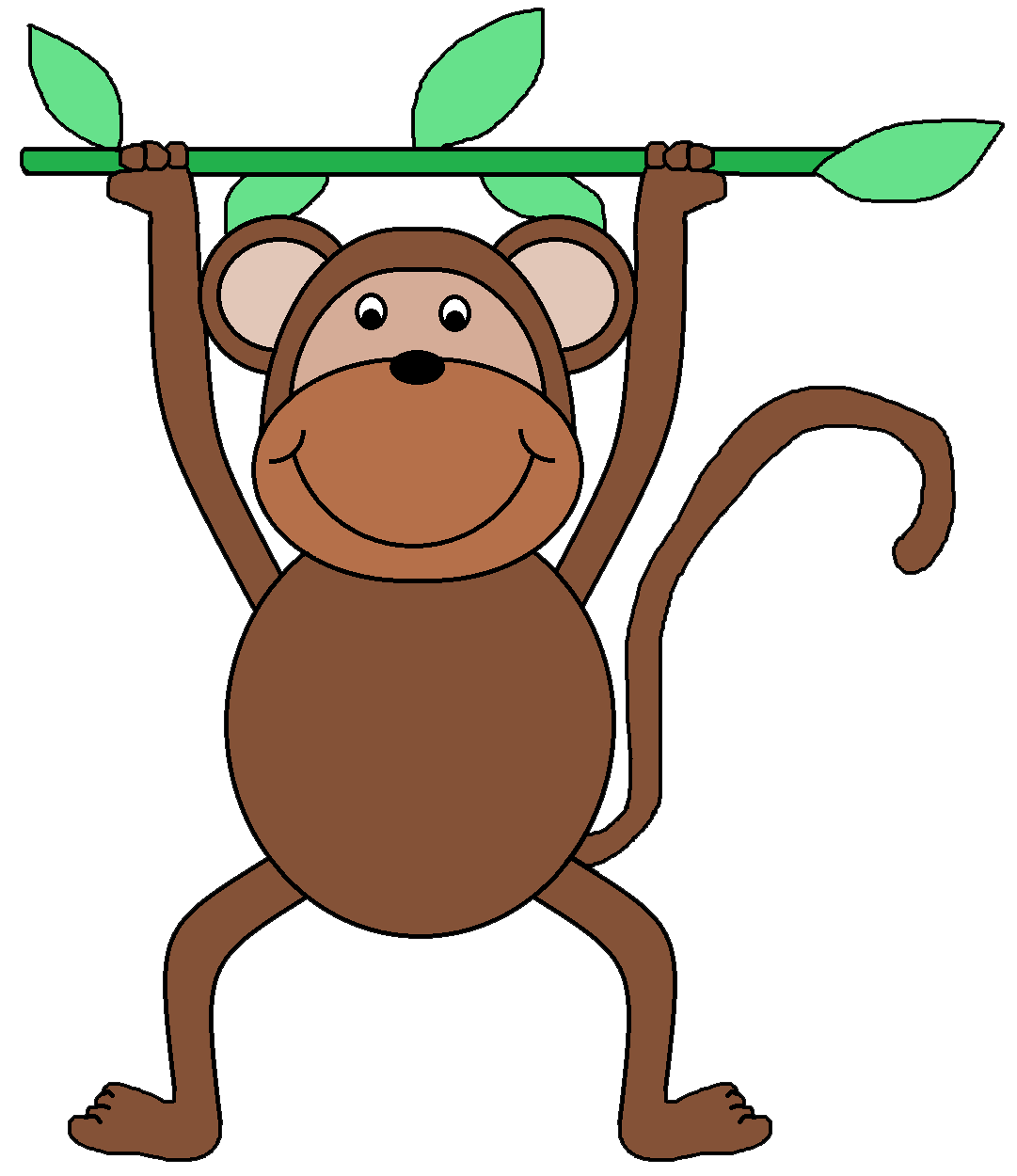 clipart image of monkey - photo #7