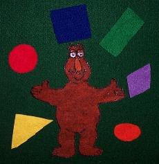 photograph regarding Printable Felt Board Stories identify ACP Form Monster Felt Board